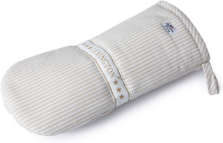 Lexington - Oxford Striped Grillhandske, Beige