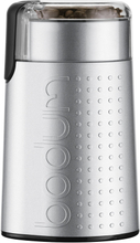 Bodum - BISTRO Elektrisk Kaffemølle, Børstet Sølv