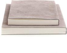 Nordstjerne - Suede Notesbog Small, Nude