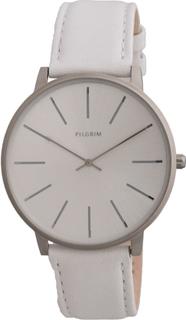 Pilgrim - Klokke, Sølv/Hvit