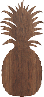 Ferm Living KIDS - Pineapple Vegglampe, Smoked Oak