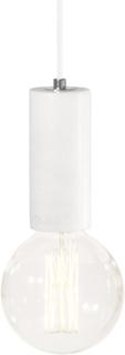 Globen Lighting - Marble Taklampe, Hvit Marmor