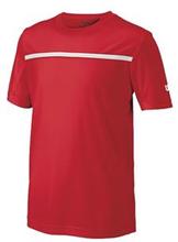 WILSON Boys Team Crew Red (S)