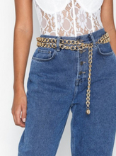 NLY Accessories Chunky Chain Belt Kulta