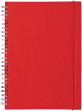 Ordning & Reda - O&R Notes Notesblok A5, Blank, Rød