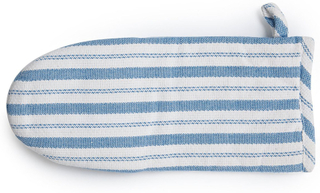 Lexington - Striped Ovnhandske, Hvid/ Blå