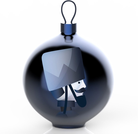 Alessi - Blue Christmas Ornament, Tre 5