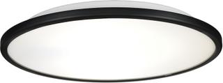 Örsjö Belysning - Disc Plafond, Sort/Opalglass