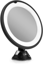 LED suction mirror x10 magnifying