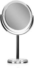 Table mirror silver and acryl x 1x5 magnifying