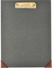 Monograph - Clipboard 24x32cm, mørkegråt