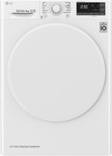 LG RC80U2AV0W Kondenstørretumbler - Hvid
