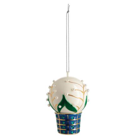 Alessi - Mughetti Smeraldi Ornament, Hvit