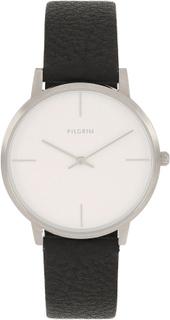 Pilgrim - Bailee Armbåndsur, Sølv/Sort