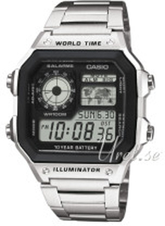 Casio AE-1200WHD-1AVEF Casio Collection LCD/Stål 42x42 mm