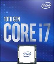 Processor Intel Core i7-10700K, 3,8 GHz Octa Core CPU