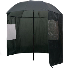 Vidaxl parasoll för fiske grön 240 x 210 cm