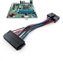 1pcs 24 pin to 14 pin psu main power supply atx adapter cable fo
