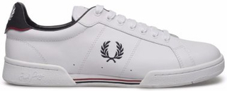 FRED PERRY Leather White Uni (38)