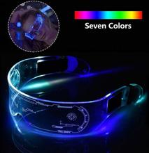 Led Luminous Glasses Light Up Eyeglass Disco Bar Dj Halloween C