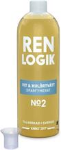 Ren Logik Vit & Kulörtvätt oparfymerat 750 ml