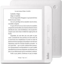 KOBO Vægt H2O digital læser - 7 - 512 MB RAM - 8 GB opbevaring - Hvid
