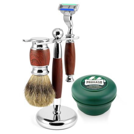Modena Barbersæt i Rosentræ - Trendhim