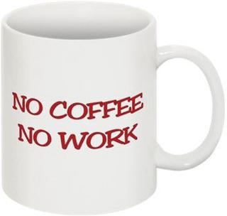Mugg - No Coffee No Work