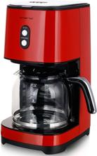 Kaffebryggare Retro röd 1,5l - Emerio