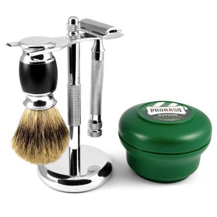 Komplet Begynder Barbersæt - Trendhim
