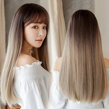 Peruk / Långt hår 67cm - Tonat