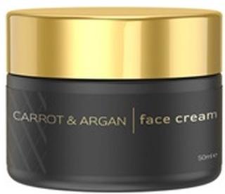 Eco Masters Carrot & Argan Face Cream - Avanceret Naturlig Hudpleje - Revitaliserende Hudpleje - 50ml