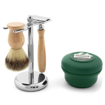 Klassisk Barbersæt i Talitræ - Trendhim