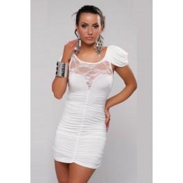 Sexy Cocktail Party Mini Dress White
