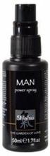 Shiatsu Man Power Spray 50 ml, erektion pidentäjä