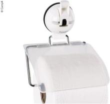 Camp4 toalettrullholder med sugekopp hvit