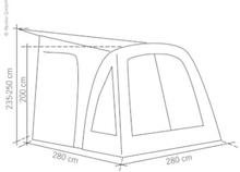 Caravanfortelt Elan 280