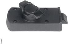 Innerlås 35-39 mm høyre svart for utvendig håndtak