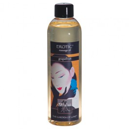 Shiatsu Massageoil Erotic 250 ml, greippi