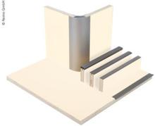 Møbelplate hvit matt