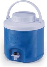 Spring drikkedunk/iskjøler med tappetut, 4 liter