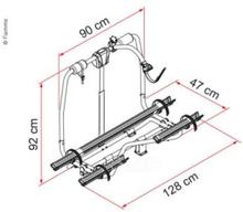 Fiamma rammestativ Car Comfort, maks 60 kg, for 2 sykler