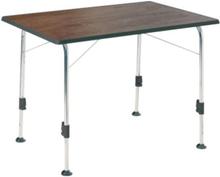 Dukdalf stabilic campingbord 100x 68 cm, gråbrun