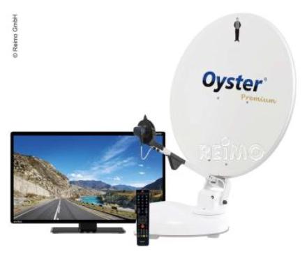 OYSTER® SATELLITTSYSTEM 85 PREMIUM MED 21,5OYSTER®TV