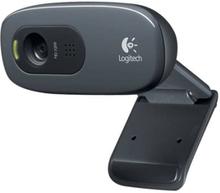 Logitech HD Webcam C270 - Nettkamera - farge - 1280 x 720 - lyd - USB 2.0
