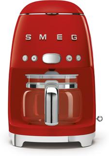 Smeg Kaffebryggare röd