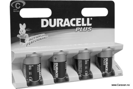 DURACELL BATTERI 1,5 V, LR14 MN 1400 C