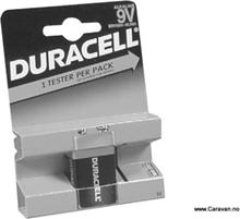 Duracell batteri 9 v, 6 l r61 mn 1604