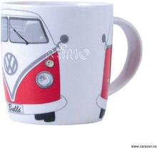 VW kaffekopp Bulli rød