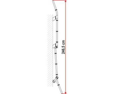 FIAMMA DELUXE 8-TRINNS STIGE SAMMENLEGSBAR
